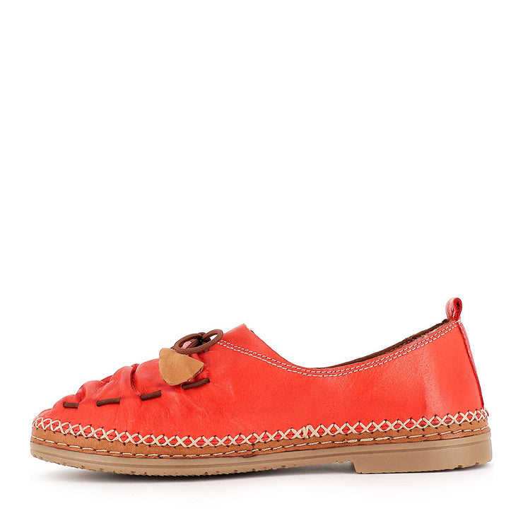SIMONE - TOMATO LEATHER