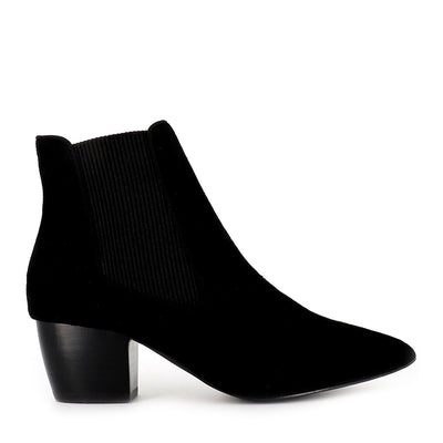 ELLA BOOT - BLACK SUEDE