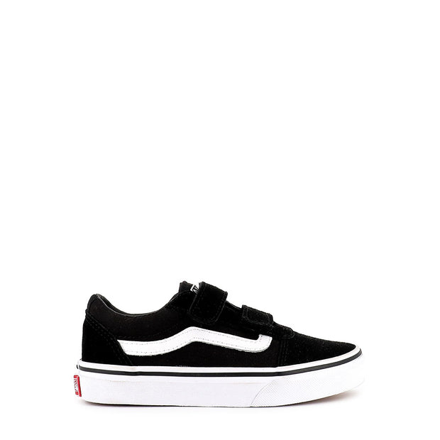 WARD V SDE/CANVAS (JNR) - BLACK/WHITE