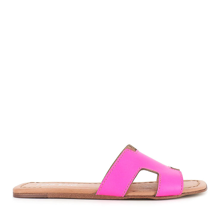 LEAMON - PINK FLURO LEATHER