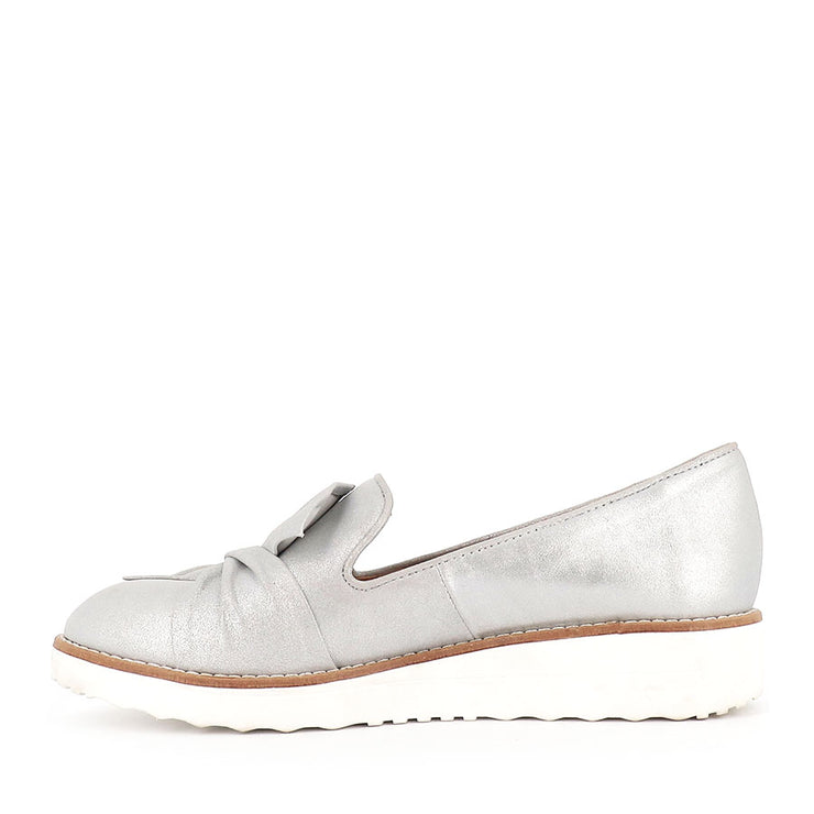 OCLEM - SILVER/WHITE LEATHER