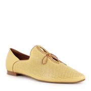SAGONA - YELLOW/DK TAN LEATHER