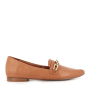 SHIRA - DARK TAN LEATHER