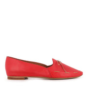 SONGA - RED DARK TAN LEATHER