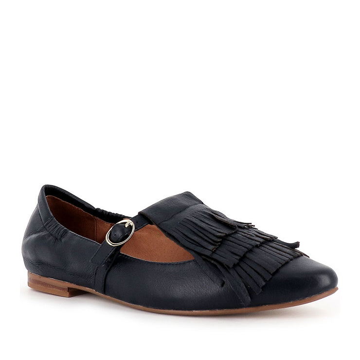 SUMNER - NAVY LEATHER