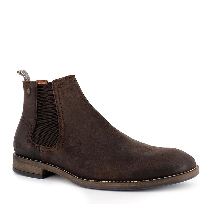 WINTON - DARK BROWN SUEDE