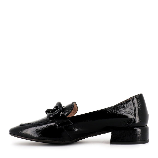 CARA C-5026 - BLACK BLACK PATENT LEATHER