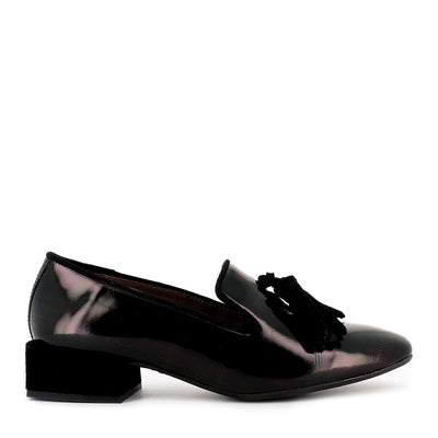 GIRLY G-4743 - BLACK PATENT LEATHER