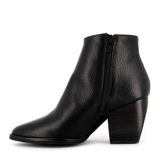 MELIE M-4103 - BLACK LEATHER