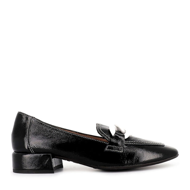 CARA C-5026 - BLACK PATENT LEATHER