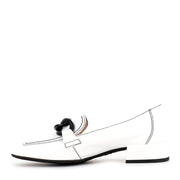 CARA C-5026 - WHITE PATENT LEATHER