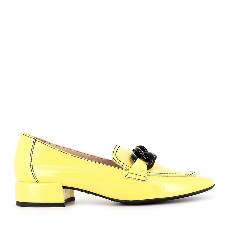 CARA C-5026 - YELLOW PATENT LEATHER