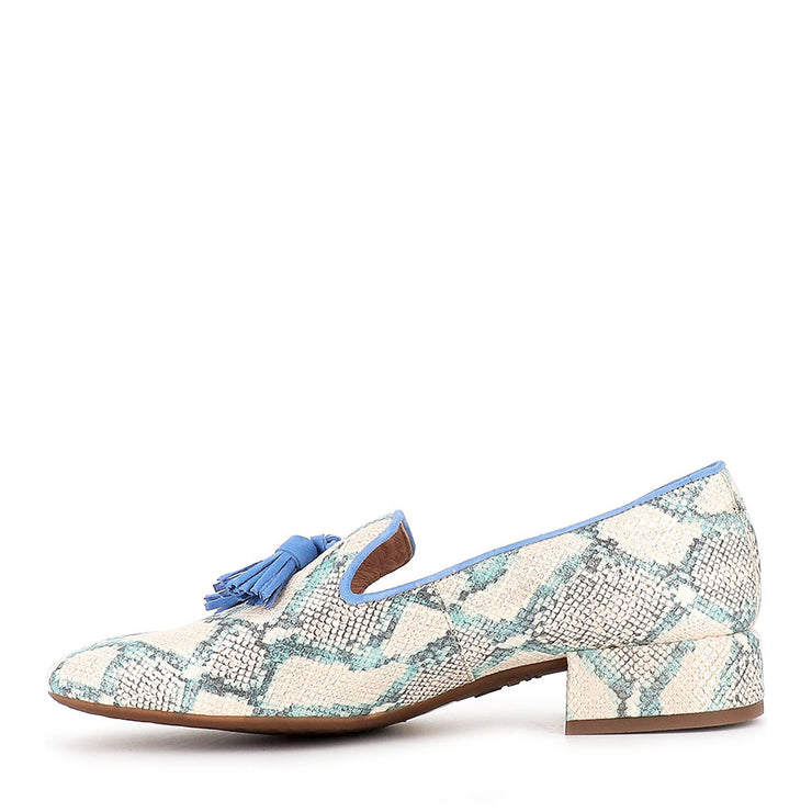 CILLA C-5024 - BLUE SNAKE LEATHER