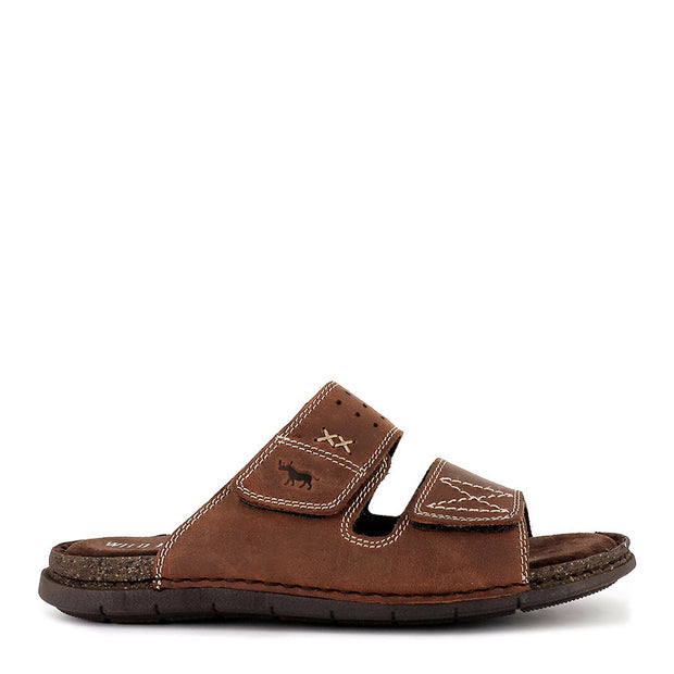 REEF - BROWN LEATHER