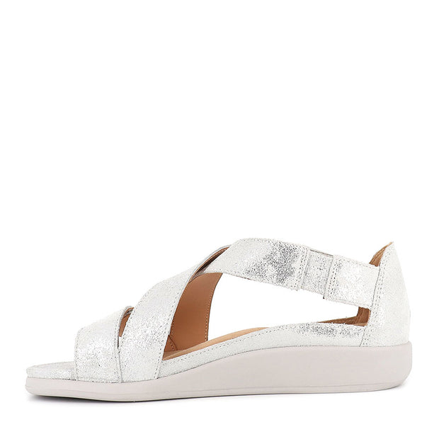 ISSY W - SILVER DUSTY LEATHER