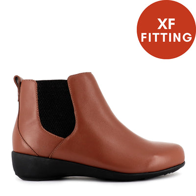 SHANGHAI XF - DARK TAN LEATHER