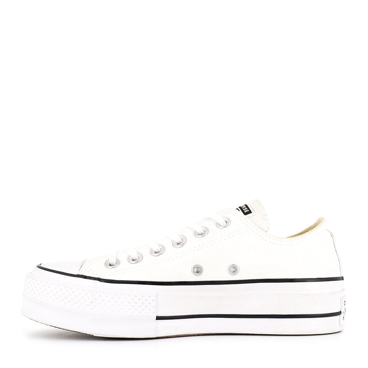 ALL STAR LIFT LOW CORE - WHT/BLK/WHT
