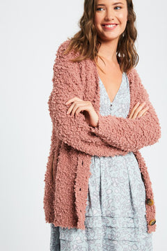 Heartaches Cardigan - Final Sale