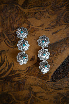 Flora Earrings (Sterling)