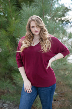 Bomb-Proof Top (Burgundy) - Final Sale