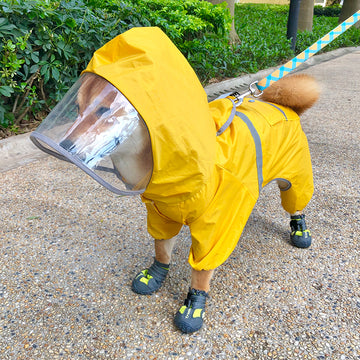 CUDDLE PUPS RAIN JACKET