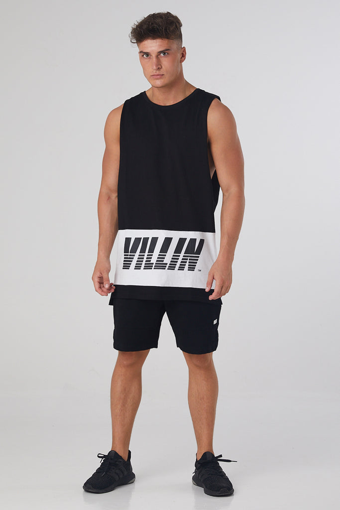 Fast Sleeveless Tank - Black