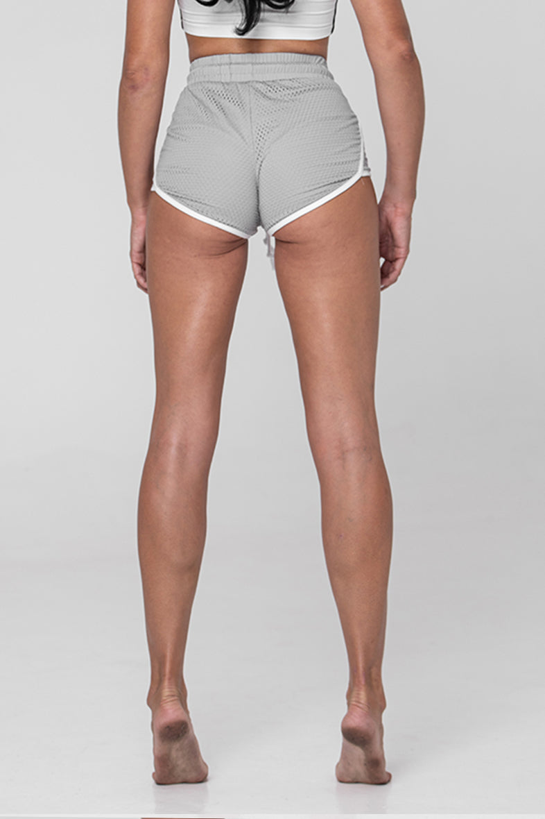 Player Mesh Shorts - Grey