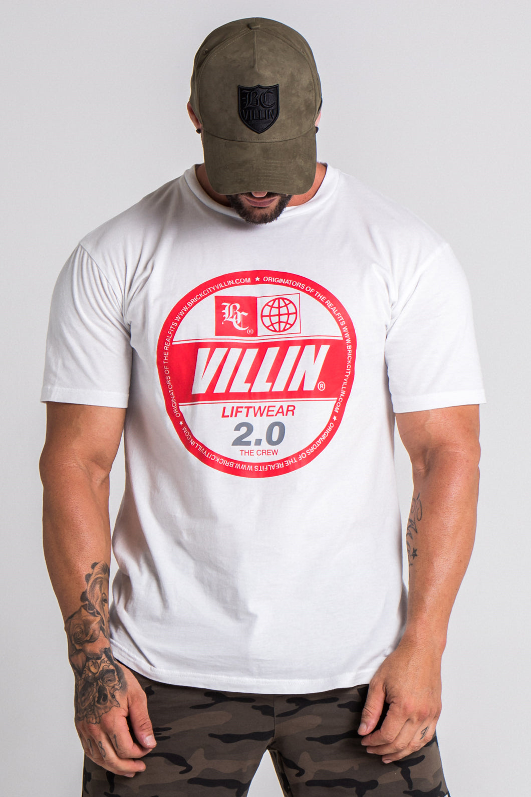 Mighty Tee -White