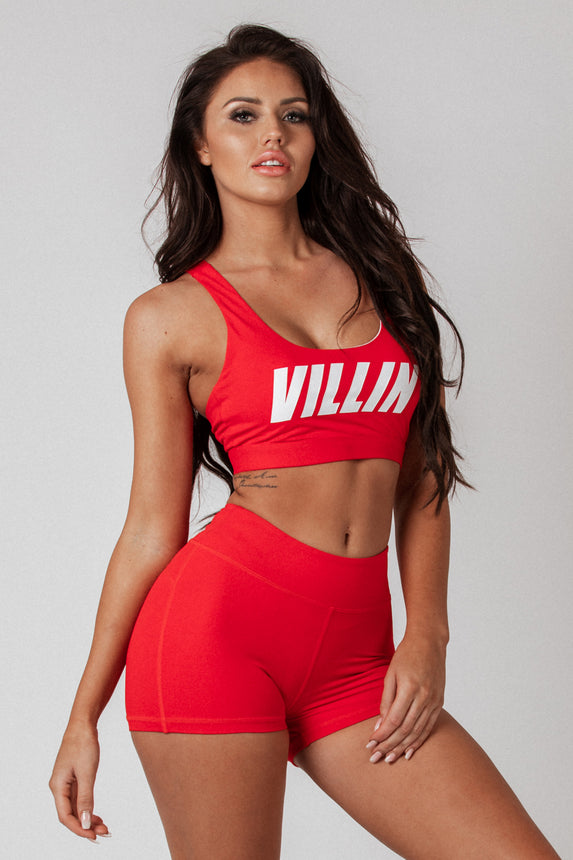 Signature Sports Bra - Red