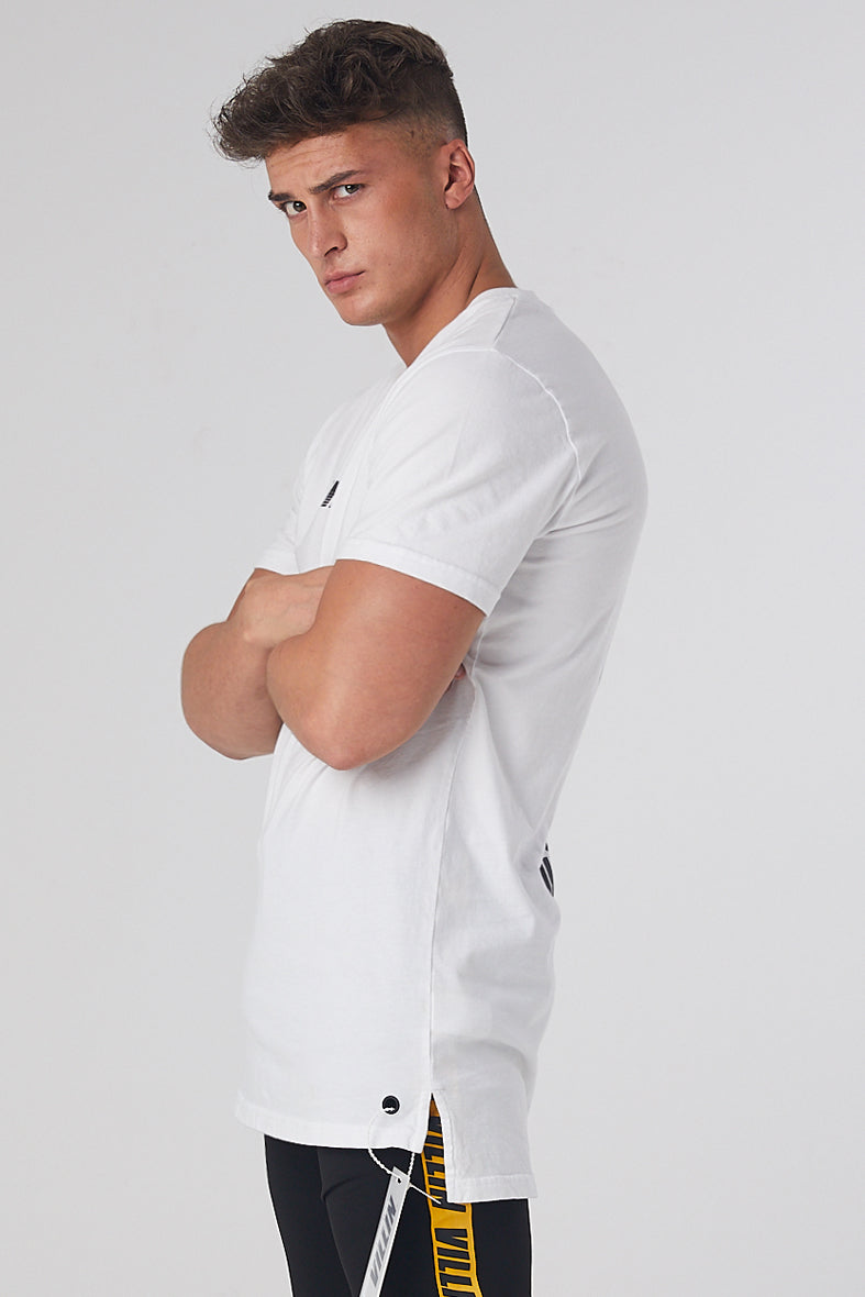 Speed DropTail Tee - White