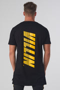 19 LEFT (S, M, XL, 2XL) - Speed DropTail Tee - Black