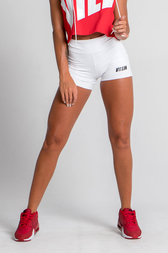 Signature Sports Shorts - White - XS, M, L only