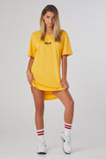 Iconic 2.0 Drop Tail Tee - Yellow