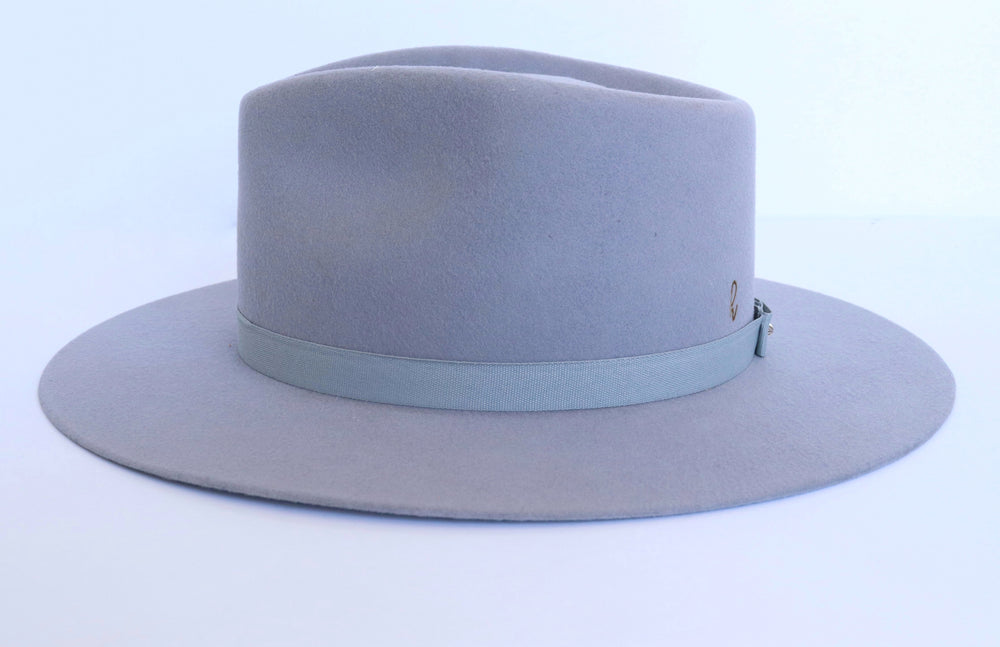 Load image into Gallery viewer, Lola Fedora Hat | Winter Grey - Harmonica