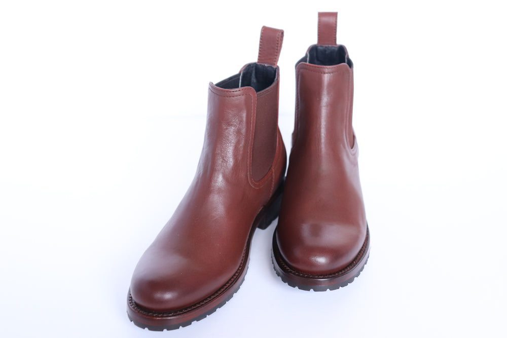 The Martina Chelsea Boot (Mahogany) - Factory Seconds - Harmonica