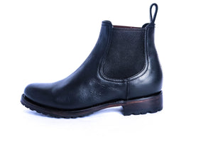 Load image into Gallery viewer, The Martina Chelsea Boot (Black) - Factory Seconds - Harmonica