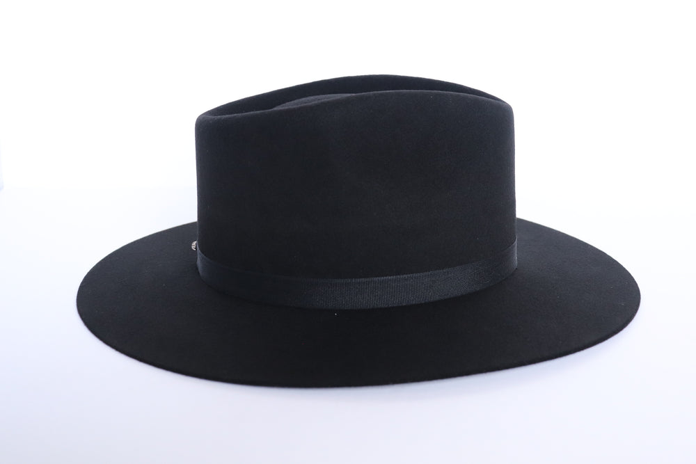 Load image into Gallery viewer, Lola Fedora Hat | Midnight - Harmonica