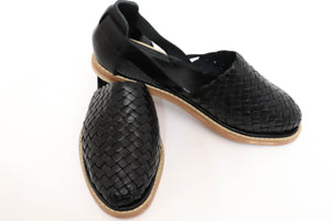 Load image into Gallery viewer, Karina Handwoven Flats - Harmonica