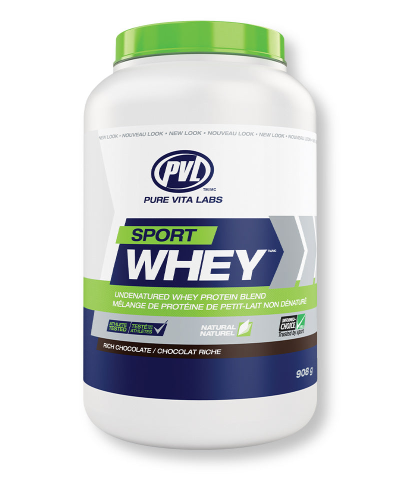 Sport Whey Protein – Rich Chocolate Flavour