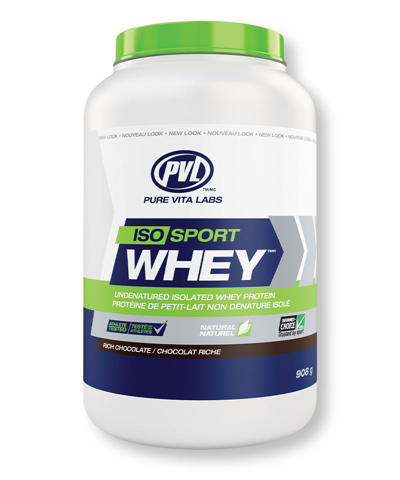 PVL ISO Sport Whey Isolate Protein – Rich Chocolate Flavour