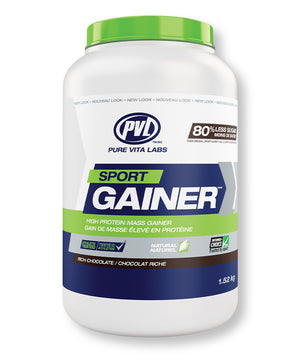 PVL Sport Gainer (Mass Gainer) – Rich Chocolate Flavour