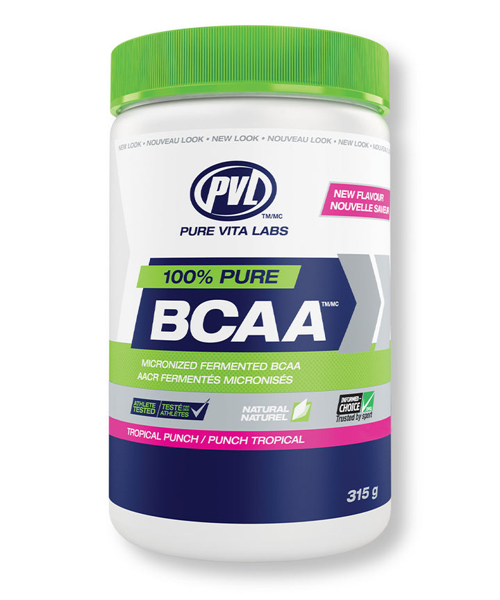 100% Pure BCAA (Micronized Fermented BCAA) – Tropical Punch