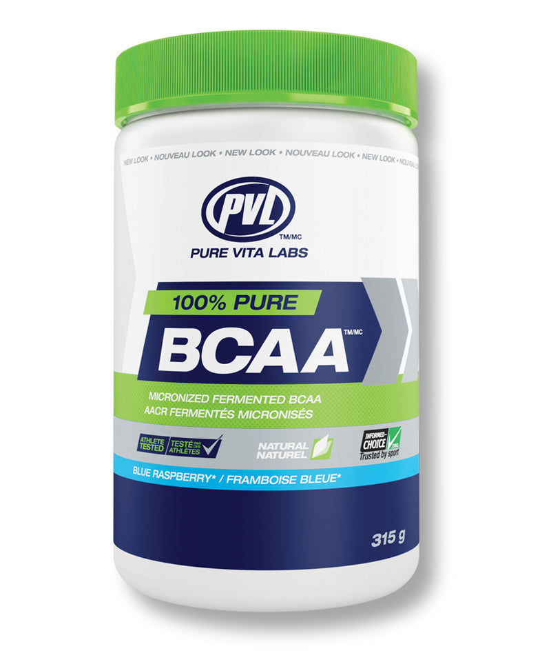 100% Pure BCAA (Micronized Fermented BCAA) – Blue Raspberry