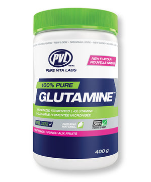 100% Pure Fermented Glutamine – Fruit Punch Flavour