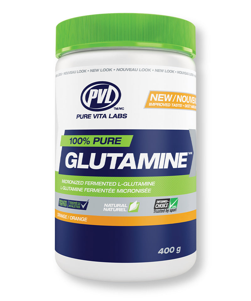 100% Pure Fermented Glutamine – Orange Flavour
