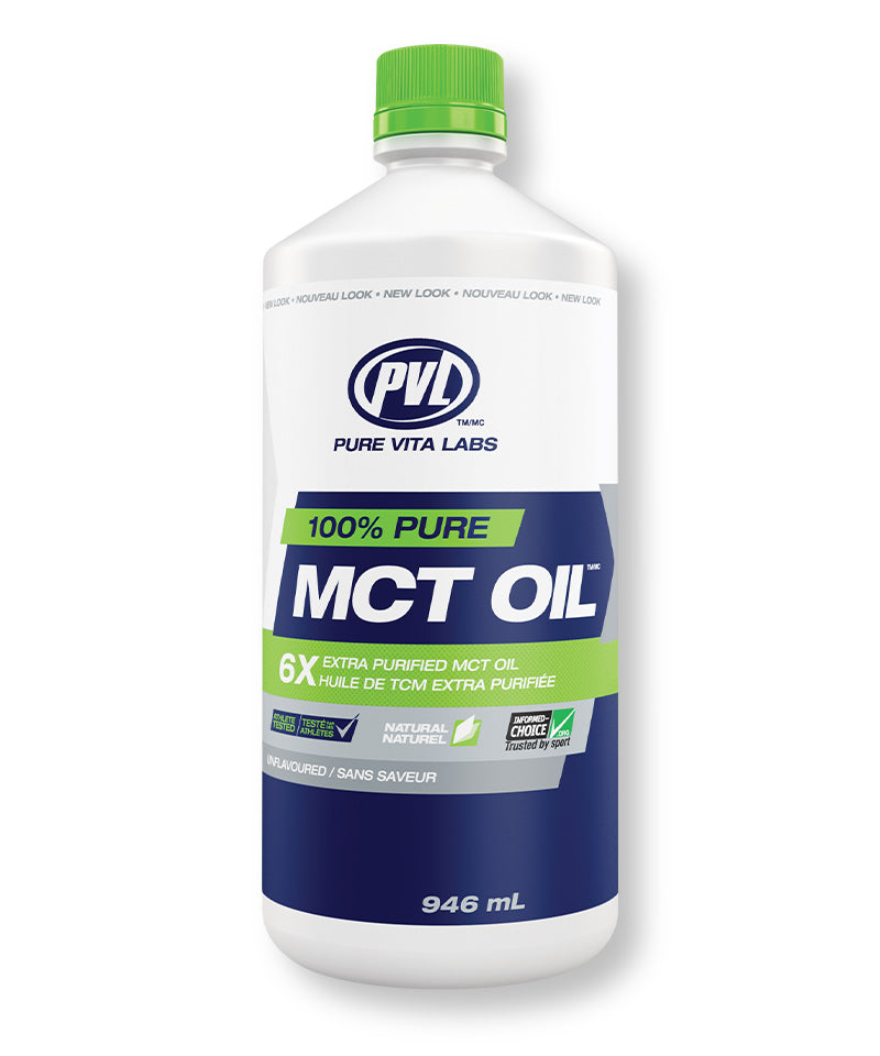 100% Pure MCT (Medium-chain Triglycerides) Oil