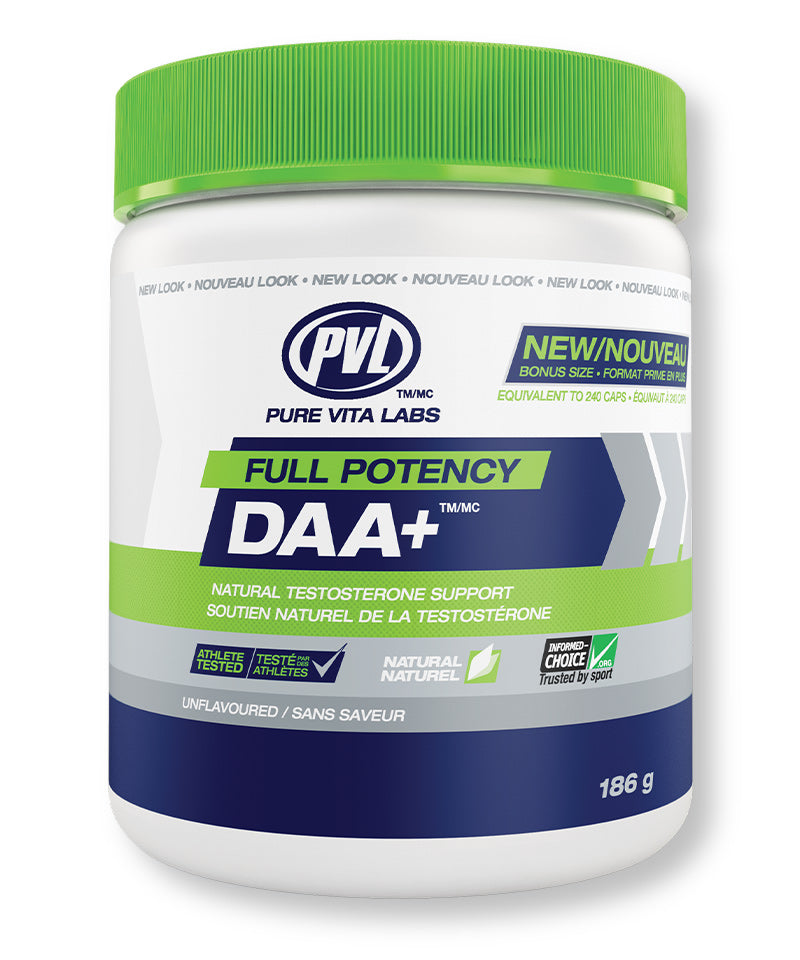 Full Potency D-Aspartic Acid Plus – Unflavoured