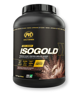 PVL ISOGOLD Premium Whey Protein Isolate – Triple Milk Chocolate Flavour