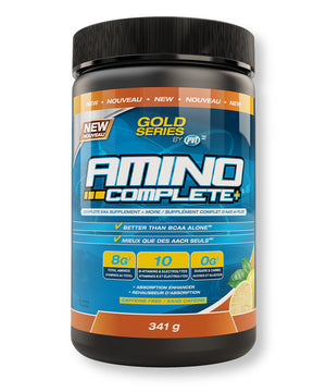 Amino Complete EAA Supplement + more – Sweet Iced Tea Flavour