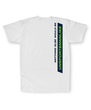 PVL Unsportsmanlike Tee White